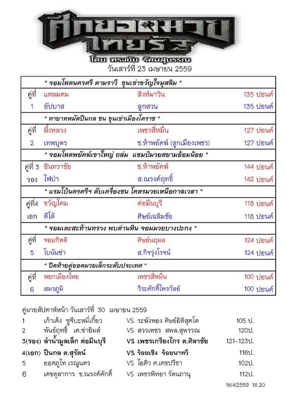 รายการมวยไทยรัฐ 23 เมษายน59_Page_1