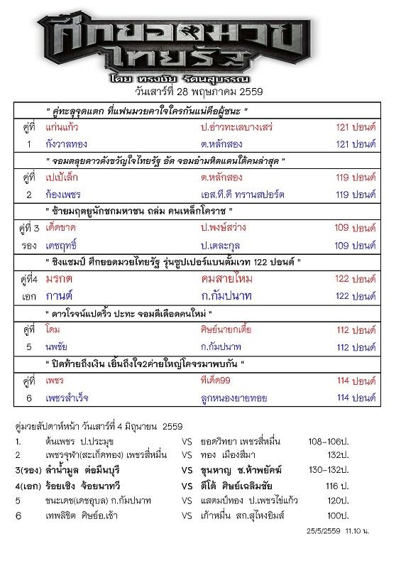 รายการมวยไทยรัฐ  28 พค 59_Page_1