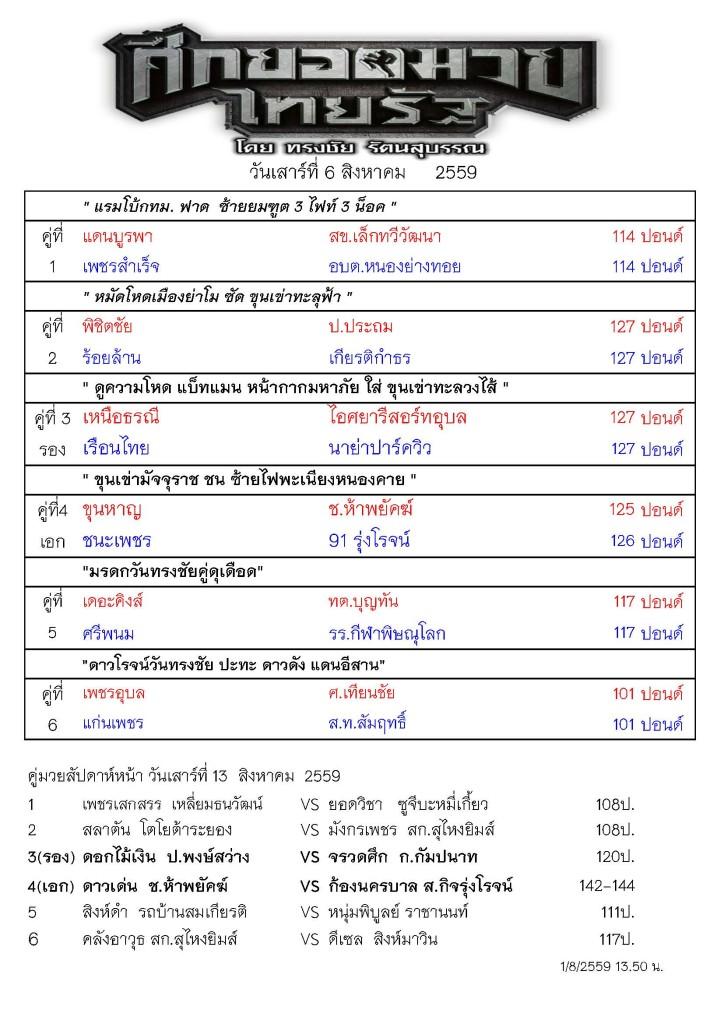 รายการมวยไทยรัฐ 6 สิงหาคม _Page_1